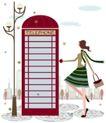 运动女性0023,运动女性,女性生活,公用电话亭 去打电话