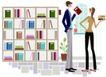 运动女性0024,运动女性,女性生活,大书架