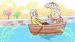 金色情人节0018,金色情人节,女性生活,一起划船