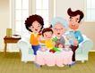 家庭团聚0015,家庭团聚,家庭,