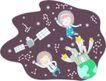 家庭学习0026,家庭学习,家庭,太空遨游