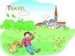 家庭旅游0010,家庭旅游,家庭,