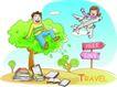 家庭旅游0011,家庭旅游,家庭,