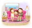 幸福生活0016,幸福生活,家庭,家人团聚
