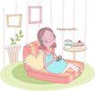 母亲生活0013,母亲生活,家庭,