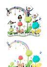 儿童卡通游玩0005,儿童卡通游玩,少年儿童,