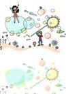 儿童卡通游玩0006,儿童卡通游玩,少年儿童,