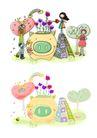 儿童卡通游玩0013,儿童卡通游玩,少年儿童,