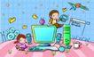 儿童卡通游玩0034,儿童卡通游玩,少年儿童,电脑 台式电脑