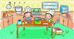 儿童卡通游玩0046,儿童卡通游玩,少年儿童,厨房 做饭 自食其力