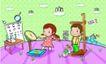儿童卡通游玩0059,儿童卡通游玩,少年儿童,儿童健康 身高 体重