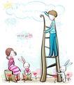 儿童情人节0021,儿童情人节,少年儿童,