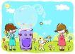 儿童游玩0035,儿童游玩,少年儿童,儿童游玩