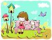 儿童游玩0040,儿童游玩,少年儿童,儿童公园