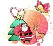 儿童节日礼物0017,儿童节日礼物,少年儿童,圣诞老人