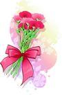 儿童节日礼物0026,儿童节日礼物,少年儿童,花束