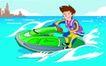 儿童运动0016,儿童运动,少年儿童,破浪