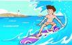 儿童运动0019,儿童运动,少年儿童,冲浪