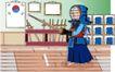 儿童运动0035,儿童运动,少年儿童,武士 拿剑 头盔