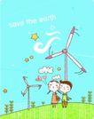 动画儿童0016,动画儿童,少年儿童,风车