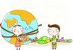 动画儿童0020,动画儿童,少年儿童,锁上地球