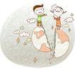 动画儿童0040,动画儿童,少年儿童,破裂的地球