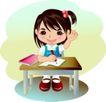 学生学习0001,学生学习,少年儿童,