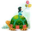 可爱小仙子0034,可爱小仙子,人物,乌龟
