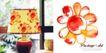 家居生活0016,家居生活,人物,台灯 水彩花朵