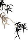 竹子荷花植物0046,竹子荷花植物,节日喜庆,竹枝