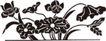 竹子荷花植物0068,竹子荷花植物,节日喜庆,