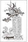竹子荷花植物0070,竹子荷花植物,节日喜庆,