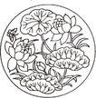 竹子荷花植物0073,竹子荷花植物,节日喜庆,