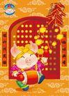 中国春节0020,中国春节,节日喜庆,