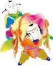 传统节日0051,传统节日,节日喜庆,寿星娃娃