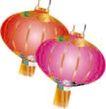 传统节日0053,传统节日,节日喜庆,挂灯笼 元霄节