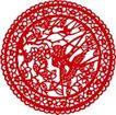 古典图案0051,古典图案,节日喜庆,传统工艺 剪纸技术