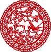 古典图案0054,古典图案,节日喜庆,展翅欲飞