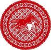 古典图案0059,古典图案,节日喜庆,奔马