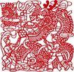 古典图案0060,古典图案,节日喜庆,耍龙 舞龙