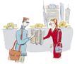 商业漫画0009,商业漫画,商业金融,