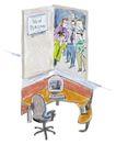 商业漫画0017,商业漫画,商业金融,