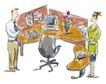 商业漫画0018,商业漫画,商业金融,