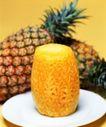 日常蔬菜0094,日常蔬菜,农业,菠萝 热带水果 果肉