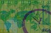 抽像生活0047,抽像生活,生活,世界地图 时区 国际时差