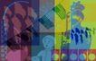 抽像生活0049,抽像生活,生活,美国印象 国旗飘扬 印第安人