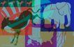 抽像生活0053,抽像生活,生活,美国议会 大象 驴子
