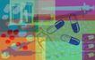 抽像生活0056,抽像生活,生活,药品 注射器 医药