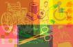 抽像生活0082,抽像生活,生活,剪刀 轮椅 胶囊