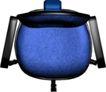户型家具0058,户型家具,房地产设计,蓝色转椅